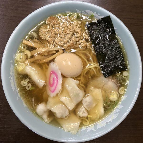「正油ワンタンメン ¥950円」@中華そば 味六の写真