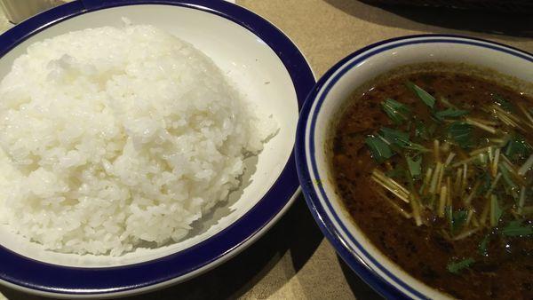 「豆カリー  ライス大盛 辛さ5倍」@カリーライス専門店 エチオピア 本店の写真
