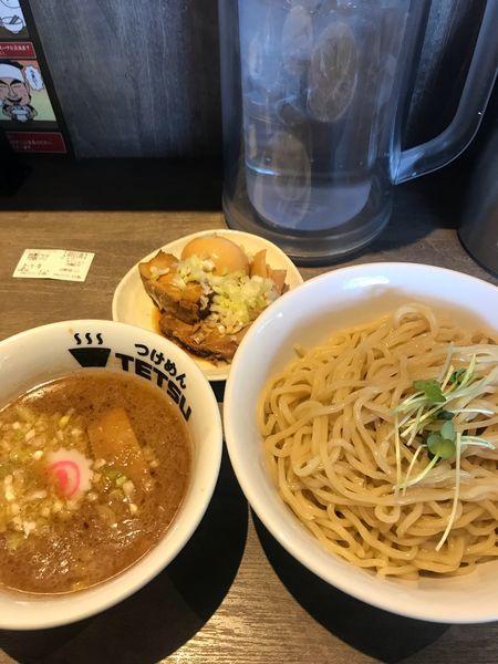 「特製つけ麺 (大盛) 1080円」@つけめんTETSU あざみ野店の写真
