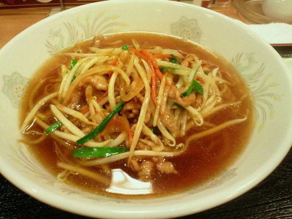 「サンマー麺餃子セット 842円」@横浜大唐の写真