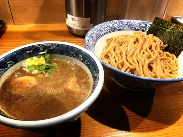 「濃厚つけ麺」@道玄坂マンモスの写真