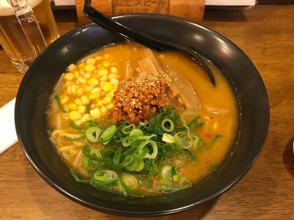 「極味噌らぅめん 780円」@権堂大衆酒場 吟屋の写真