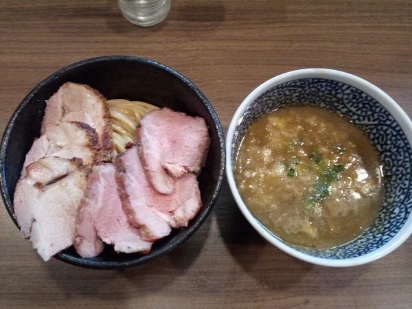 「チャーシュー極濃煮干しつけ麺」@煮干しつけ麺 宮元の写真