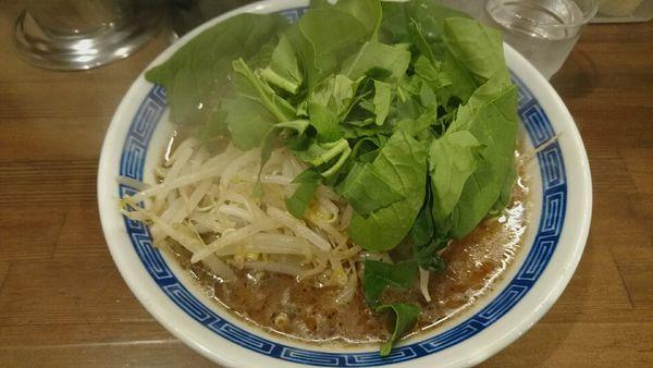「黒味噌らー麺_800円」@麺や 神笑の写真