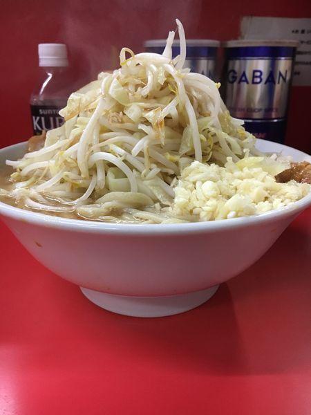 「小ラーメン  ニンニク多め ➕ カラメ」@ラーメン二郎 松戸駅前店の写真
