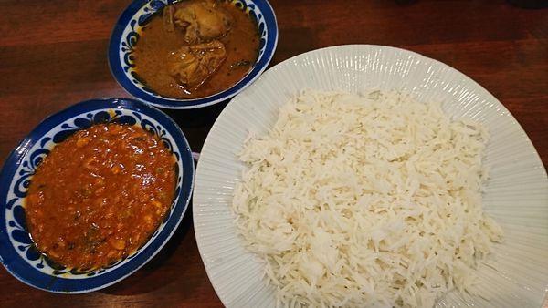 「シタールランチセット 1361円」@インド料理 シタールの写真