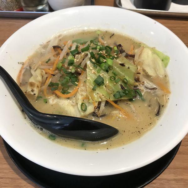 「鶏白湯タンメン(¥860)」@麺場 鶏源 TORIGEN 蒲田店の写真