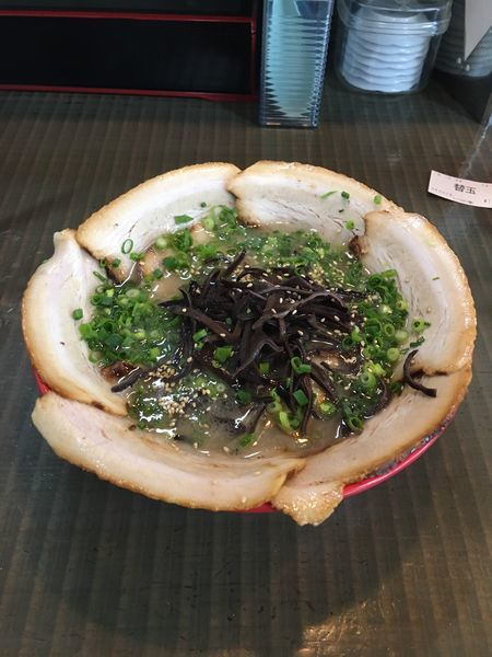 「チャーシューメン」@拉麺エルボー 宗像店の写真