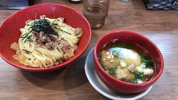 「塩ソバつけ麺」@麺家 Shumen Doushiの写真
