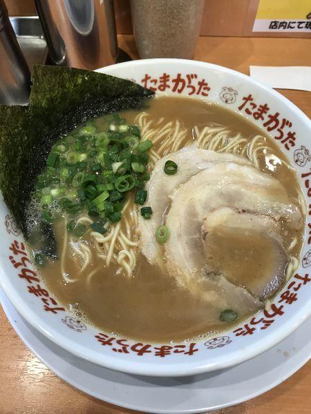 「らぁめん+替玉(¥710+¥100)」@九州大分らぁめん たまがった 西口店の写真