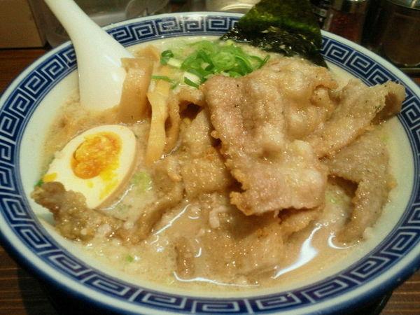 「排骨豚骨醤油麺 1005円」@麺家 くさび 福島店の写真