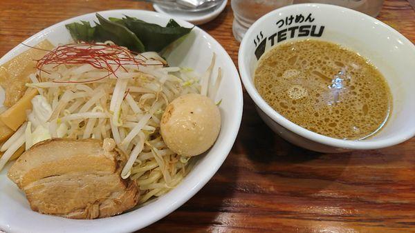 「海老味噌つけめん+味玉(1010円)」@つけめんTETSU さいたま特別版の写真