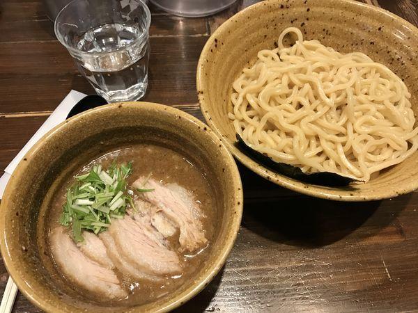 「ベジポタつけ麺 冷盛りもっちり」@二代目えん寺の写真