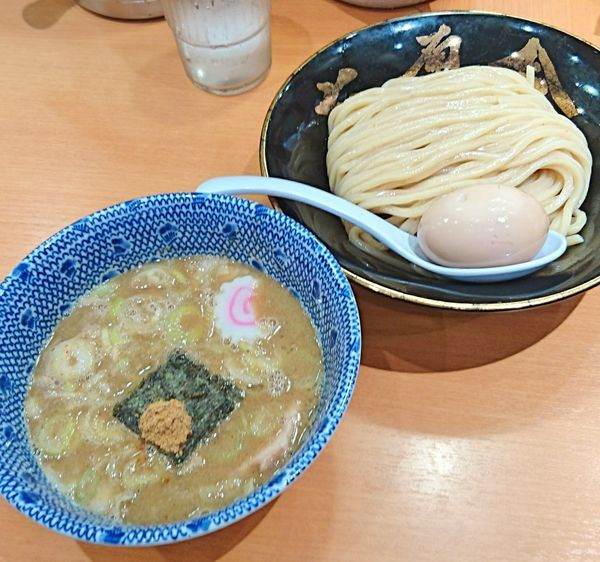 「味玉つけ麺」@六厘舎の写真