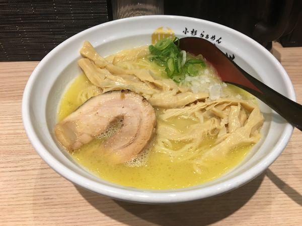 「鶏白湯」@小杉らぁめん 夢番地の写真