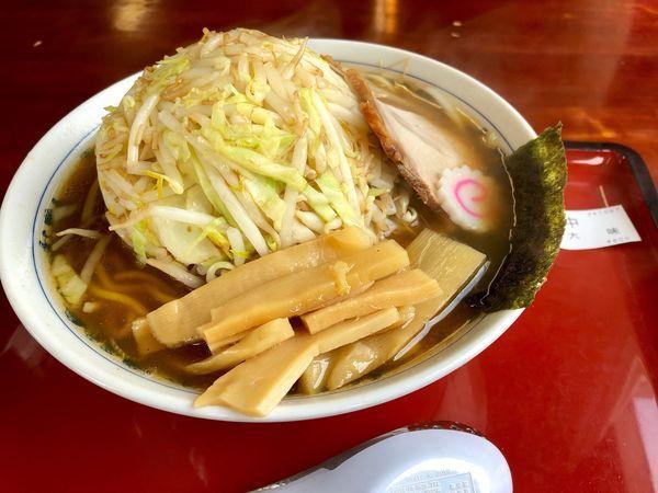 「野菜中華そば ¥800」@武蔵村山大勝軒の写真