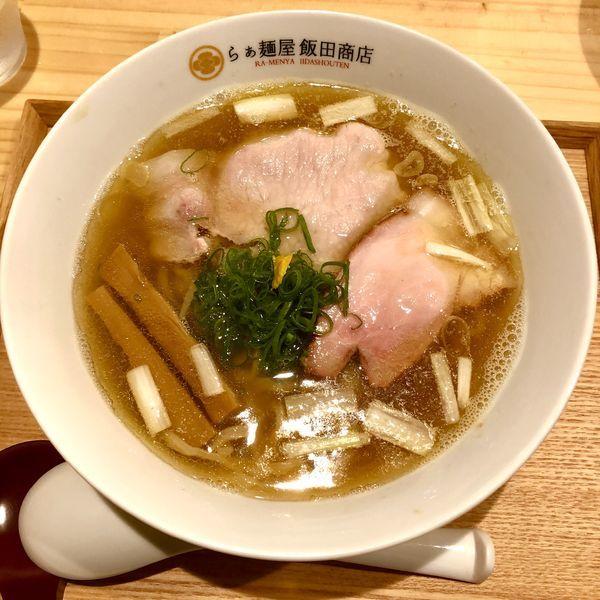 「にぼしらぁ麺 ¥800」@らぁ麺 飯田商店の写真