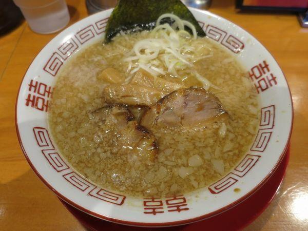 「背脂醤油ラーメン 580円+税」@かみなり太郎の写真
