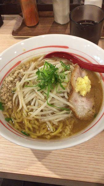 「スタミナ味噌」@拉麺 大公の写真