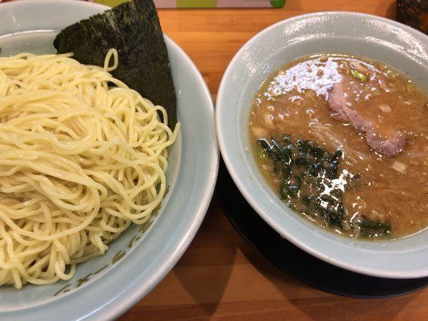 「味噌つけ麺(並)750円+味玉クーポン0円」@ラーメンショップ椿 二本松店の写真