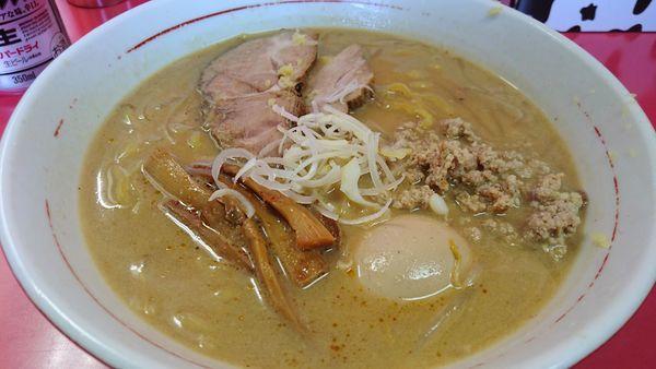 「味噌拉麺 味玉」@札幌焼き味噌ラーメン みずきの写真