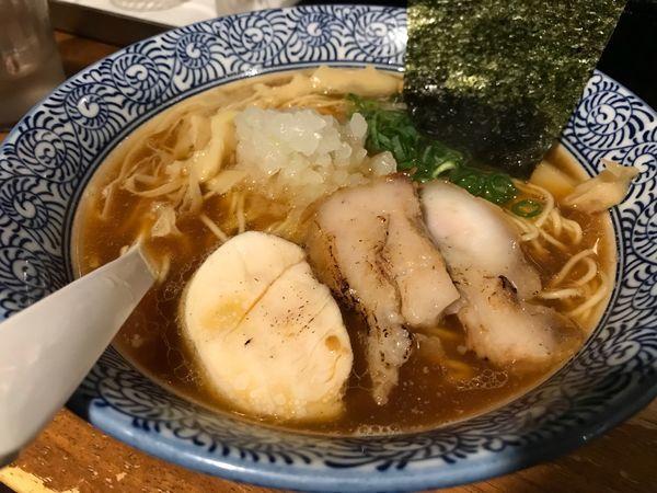 「煮干しラーメン  700円」@煮干しラーメン 麺匠 春晴の写真