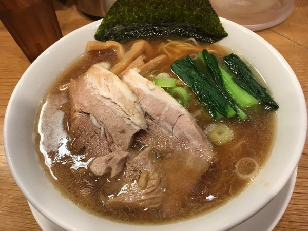 「江戸前中華そば」@江戸前つけ麺 サスケの写真