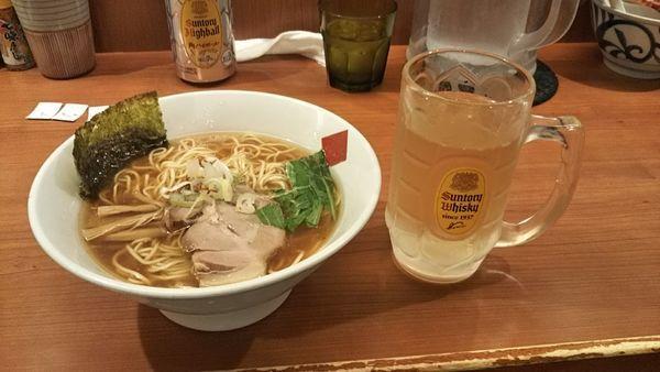 「鶏だし中華醤油そば」@東京の中華そば ちよがみの写真