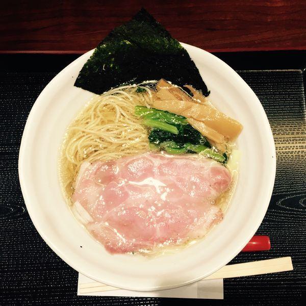 「鶏だし塩RAMEN 842円」@RAMEN 火影 ラゾーナ川崎店の写真