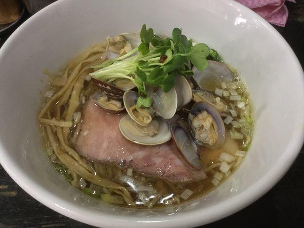 「琥珀醤油麺 ¥750」@らぁめん こはくの写真
