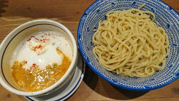 「海老泡つけ麺 850円」@つけ麺 麺也 時しらずの写真