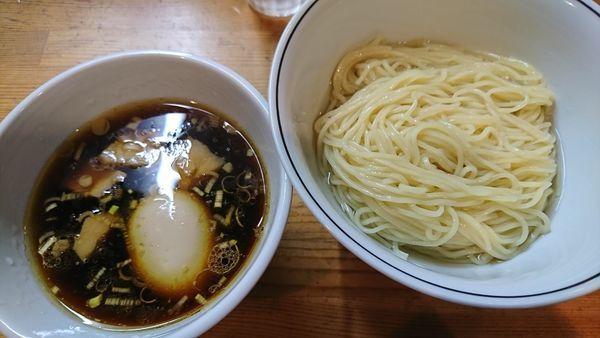 「味玉醤油つけ麺(950円)」@麺屋 彩香の写真
