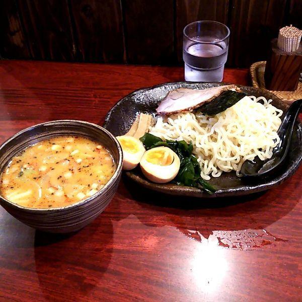 「辛味噌つけ麺」@北海道らーめん ひむろ 上野店の写真