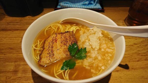 「煮干し中華そば ¥730」@煮干し中華そば三四郎の写真