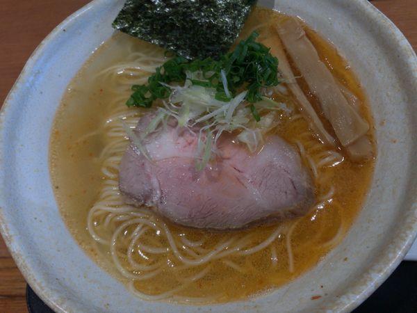 「中華そば 塩(麺大盛り)」@中華そば 風 KAZEの写真