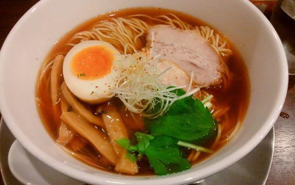 「追いかつお醤油らぁ麺」@駅南 八っすんばの写真