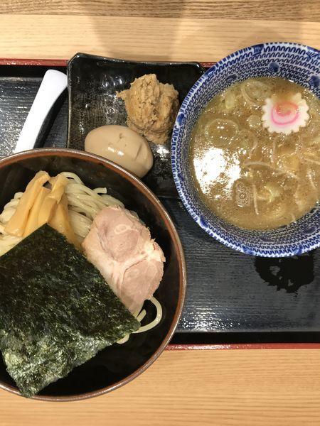 「特製つけ麺」@舎鈴 JRさいたま新都心ビル店の写真
