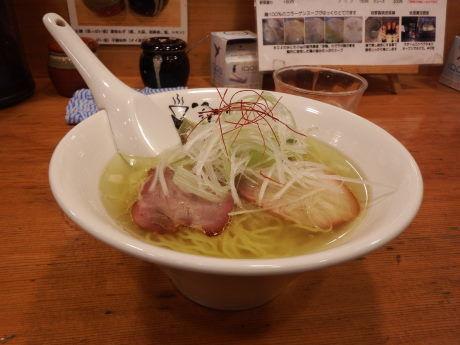 「鶏そば」@鶏そば きび 目黒店の写真