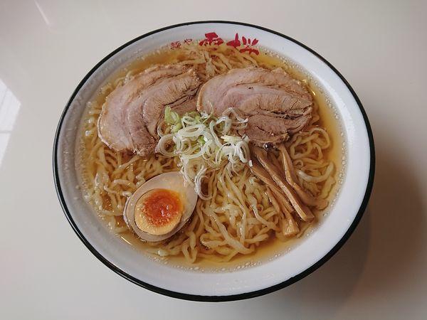 「らーめん大盛 780円」@麺や 雷桜の写真