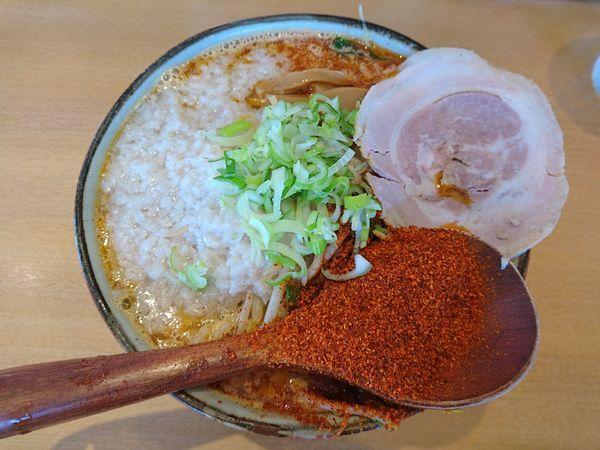 「大辛味噌ラーメン(中盛り、こってり)」@麺や 和の写真