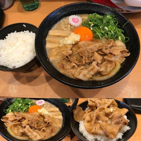 「肉玉そば」@肉玉蕎麦 おとど 北松戸総本山の写真