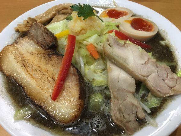 「魚黒雄大タンメン 1000円」@麺や 遊大の写真
