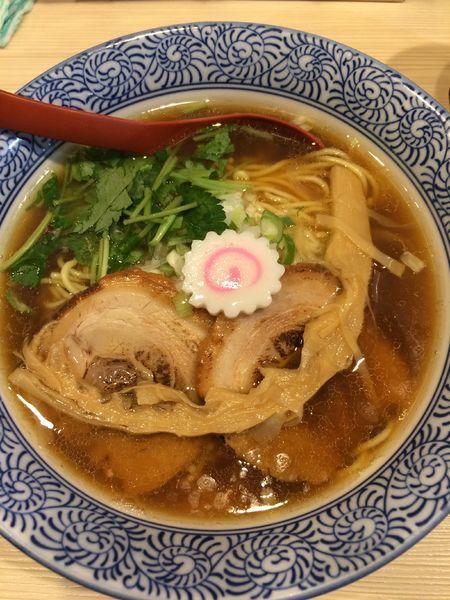 「煮干し中華そば(並)780円」@麺場 風天の写真