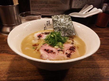 「鶏白湯ラーメン」@麺屋 藤しろ 目黒店の写真