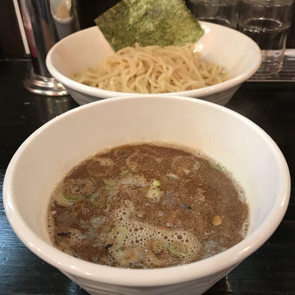 「煮魚つけ麺(¥730)」@魚豚の写真