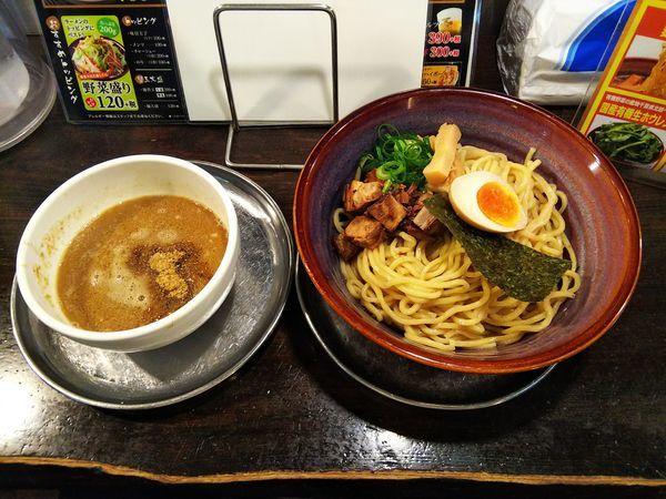 「つけ麺あつもり 麺大盛」@光麺 原宿店の写真