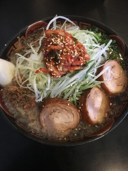 「キムチ鶏中華」@麺辰の写真