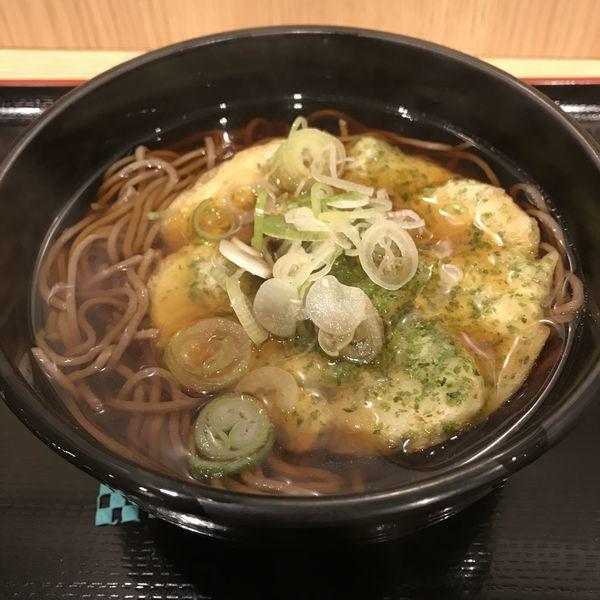 「【季節限定】無農薬長芋の磯辺揚げ(¥400)」@よもだそば 銀座店の写真