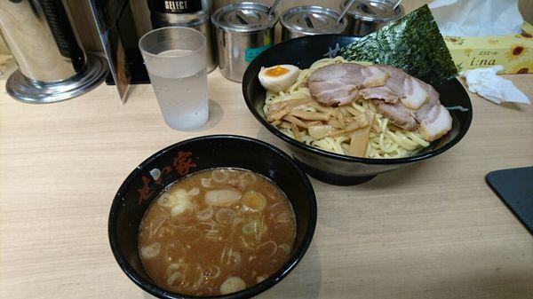 「つけ麺+チャーシュー @853円」@せい家 柏店の写真