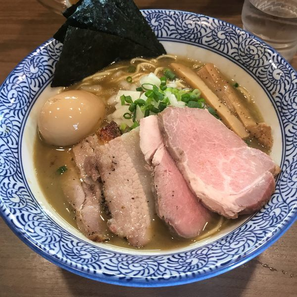 「特製極上濃厚煮干しそば 980円」@煮干しつけ麺 宮元の写真